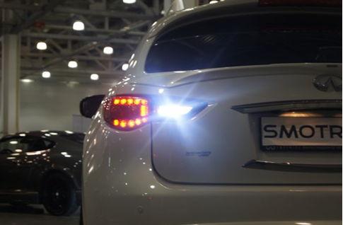 светодиоды в задних фонарях автомобиля