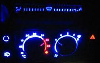 светодиодная панель приборов авто