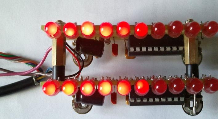светодиодный индикатор уровня