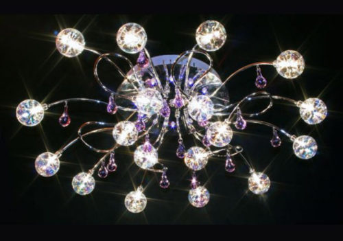 Потолочная люстра со светодиодами