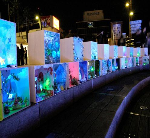 Картины со светодиодами