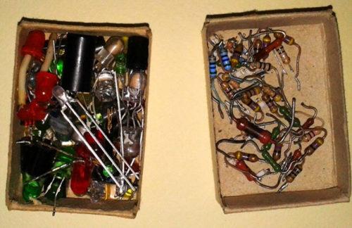 Светодиоды и резисторы