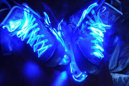 Коньки со светодиодной подсветкой