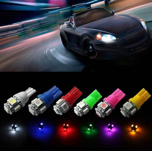 Световой тюнинг автомобиля с помощью светодиодов