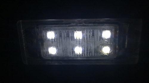 Работающая лампа со светодиодами